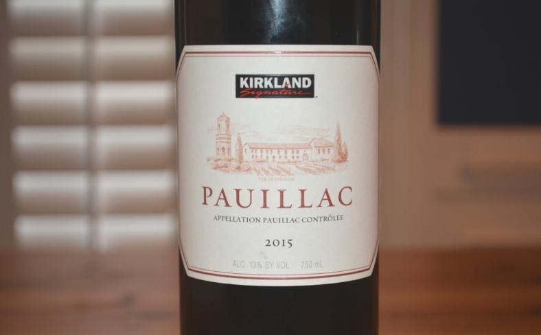 2015 Kirkland Signature Pauillac Bordeaux