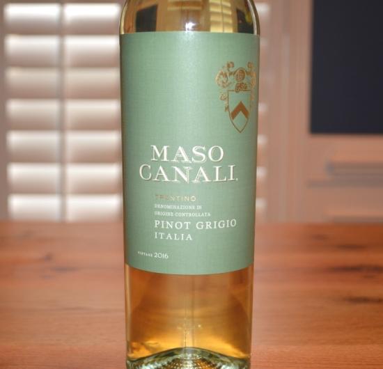 2016 Maso Canali Pinot Grigio Trentino
