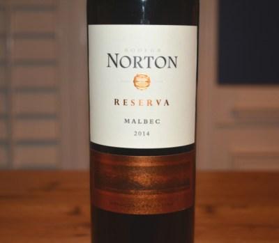 2014 Norton Malbec Reserva