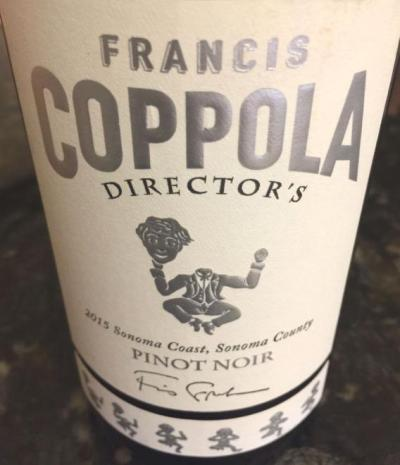 2015 Francis Coppola Pinot Noir Sonoma Coast
