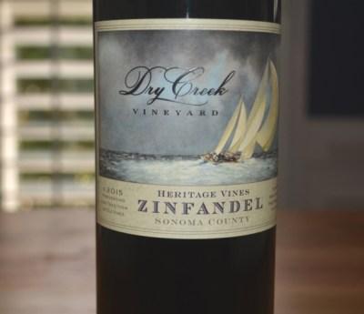 2015 Dry Creek Vineyard Heritage Zinfandel