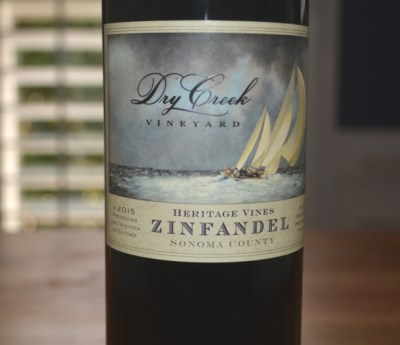 2015 Dry Creek Vineyard Heritage Zinfandel