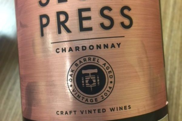 2015 Slow Press Chardonnay