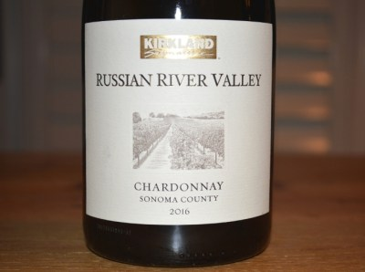 2016 Kirkland Signature Russian River Chardonnay