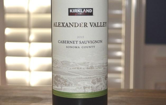 2015 Kirkland Alexander Valley Cabernet Sauvignon