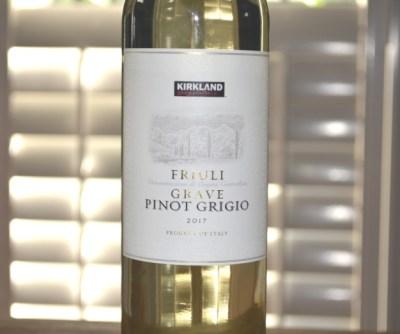 2017 Kirkland Signature Pinot Grigio Friuli