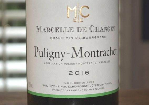 2016 Marcelle de Changey Puligny-Montrachet