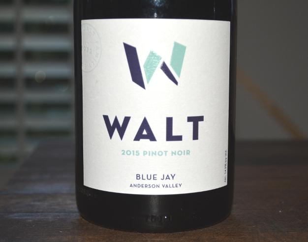 2015 Walt Blue Jay Anderson Valley Pinot Noir