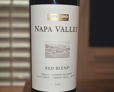 2015 Kirkland Signature Napa Valley Red Blend