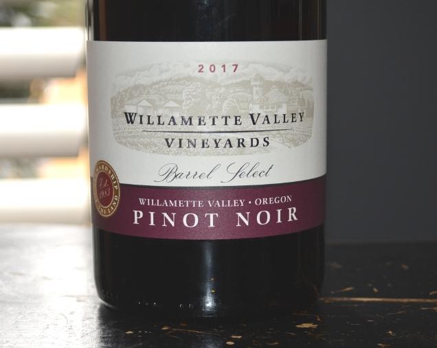 2017 Willamette Valley Vineyards Barrel Select