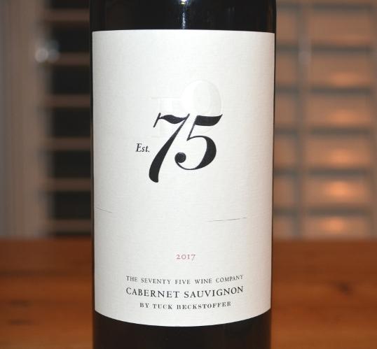 2017 Tuck Beckstoffer The Seventy Five Wine Company Est 75 Cabernet Sauvignon