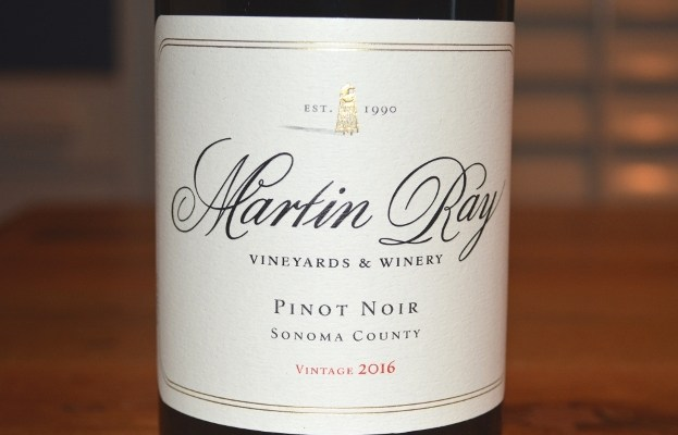 2016 Martin Ray Pinot Noir Sonoma County