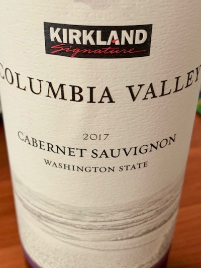 Kirkland Columbia Cabernet