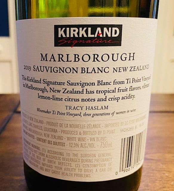 Kirkland Ti Point Sauvignon Blanc