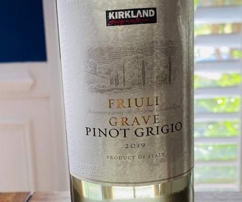 Kirkland Pinot Grigio Friuli