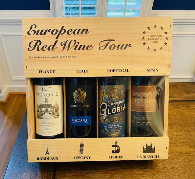 Costco European Wine Tour