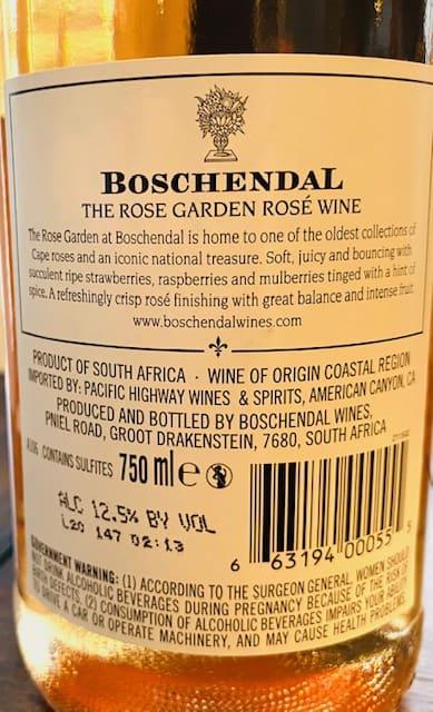 Boschendal Rose Garden