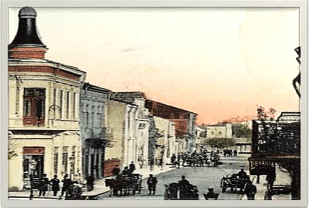 De la Primărie spre piață bună 1904