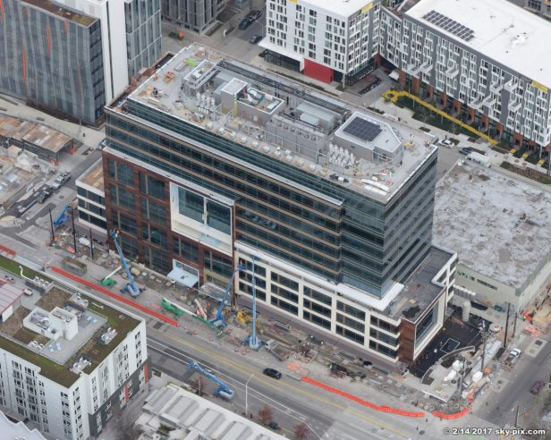 The Alexandria Center; 400 Dexter Ave N, Seattle, WA 98109; South Lake Union; owner: Alexandria Real Estate Equities; architect: CollinsWoerman; general contractor: BNBuilders