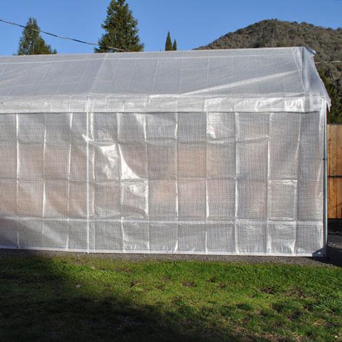 20x20 Replacement Greenhouse 5 Piece Combo Kit Costless Tarps