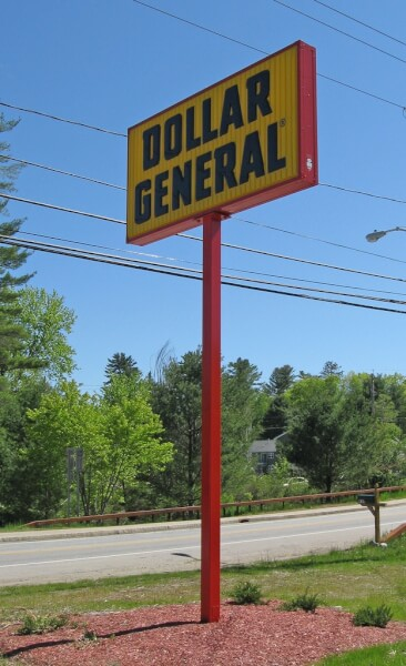 how much does dollar general franchise cost