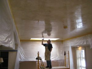ceiling painting works