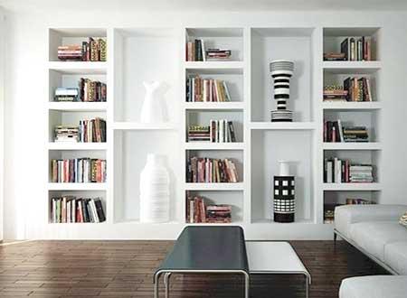 Troverai tante idee per realizzare la libreria in cartongesso che hai sempre desiderato! Libreria In Cartongesso Prezzi Informazioni Sui Costi E Preventivi