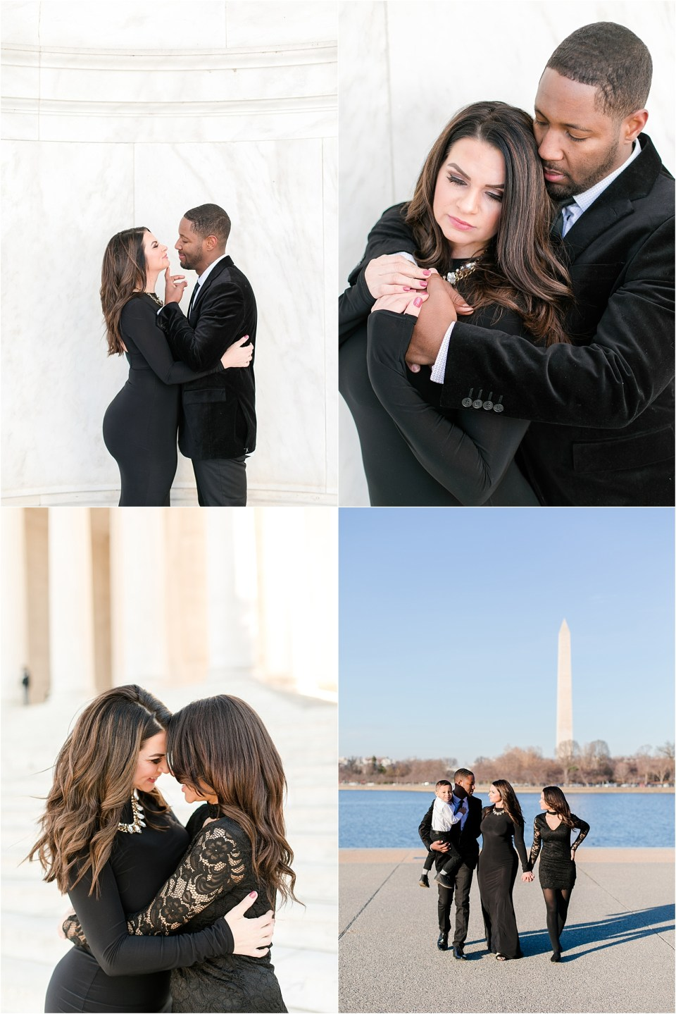 Jefferson Memorial Family Session