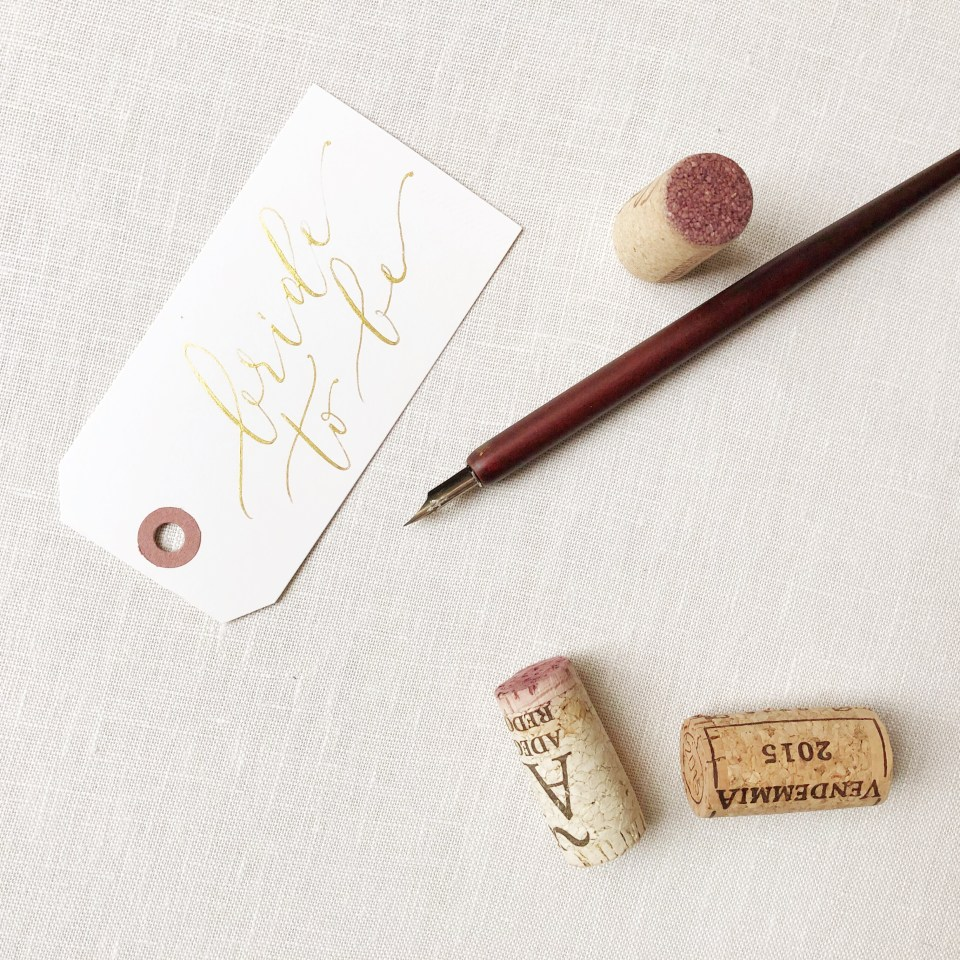Wedding Photographer Styling Kit wine corks stationary props