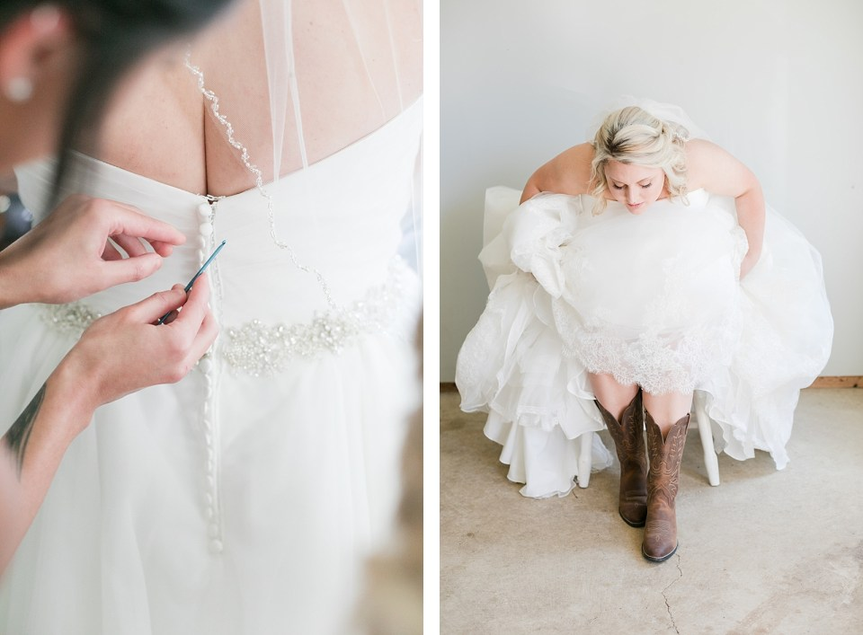 country bride cowgirl boots