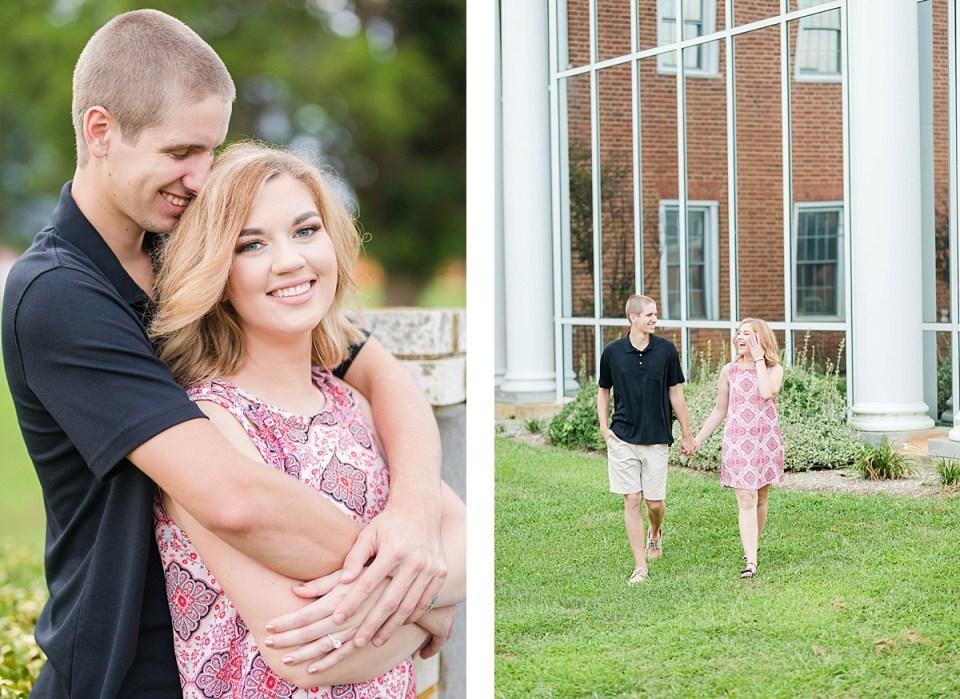 La Plata High School Engagement Session Southern Maryland Wedding Photographer Costola Photography