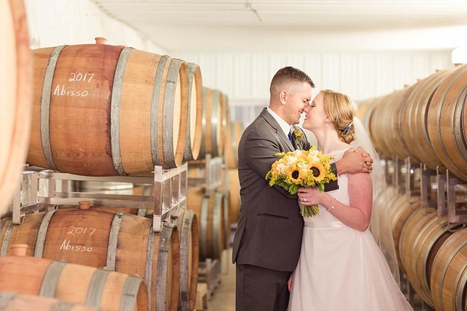 Linganore Winecellars Wedding