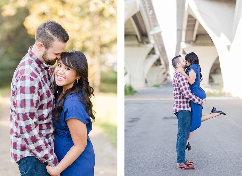 Waterfront Engagement in Alexandria Costola Photography