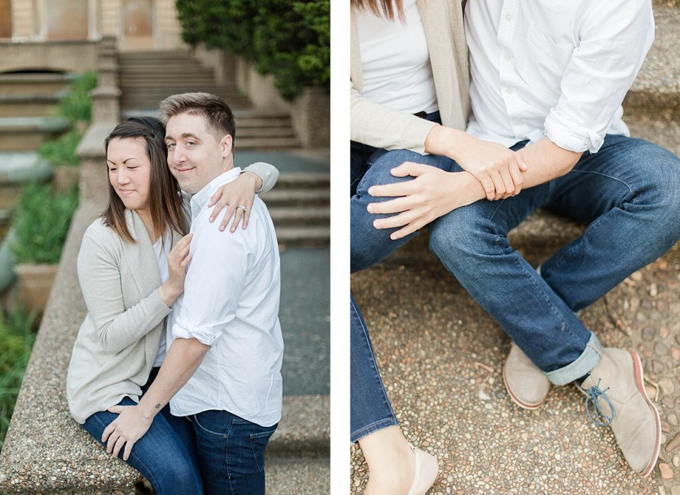 Meridian Hill Park Engagement Session Costola Photography