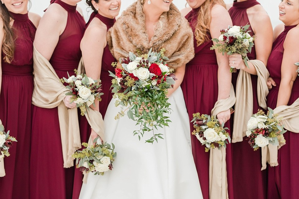 Chesapeake Beach Resort and Spa Winter Wedding