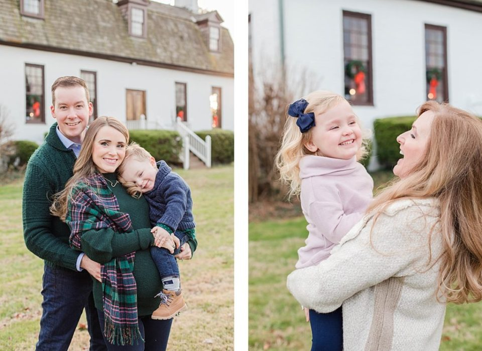 Southern Maryland Family Session for Serendipity Bridal Owners