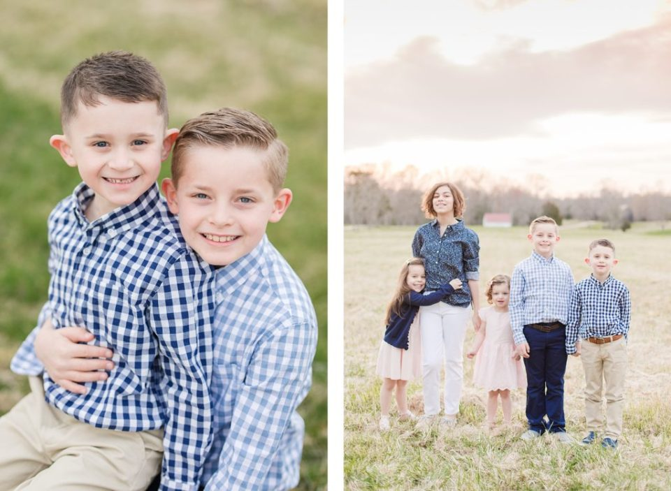 Family Session in Port Tobacco Maryland