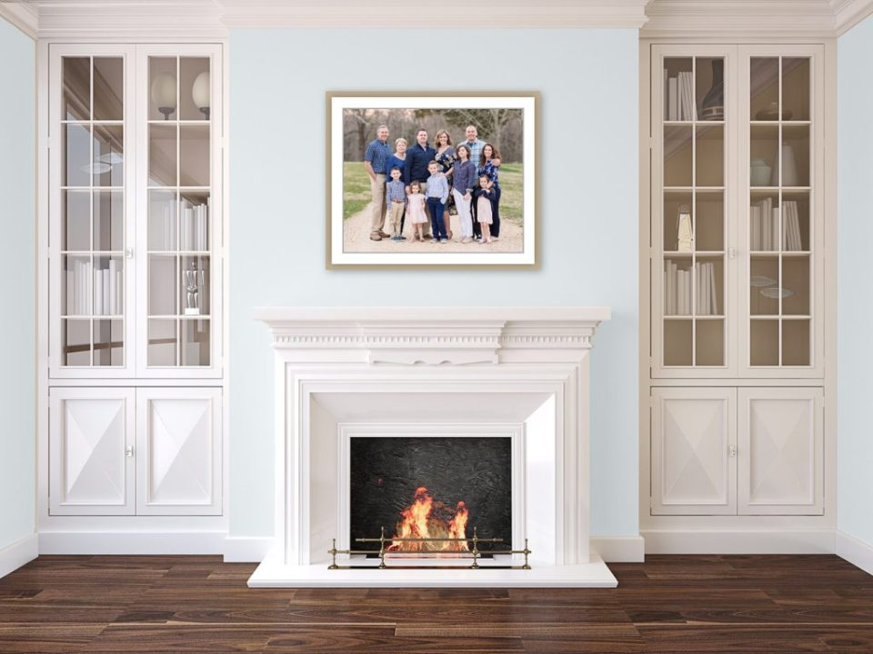 Family Session in Port Tobacco Maryland Wall Gallery Design