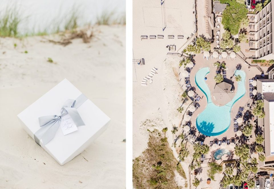 Beach Welcome Box by Marigold and Grey by Costola Photography