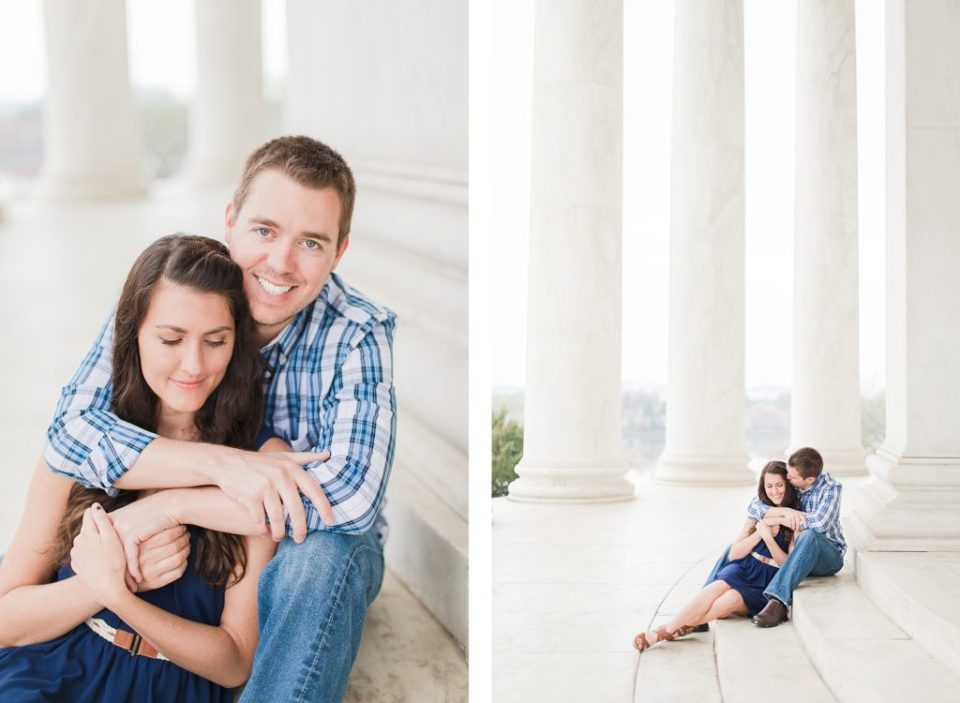 Engagement Session at The Cherry Blossoms