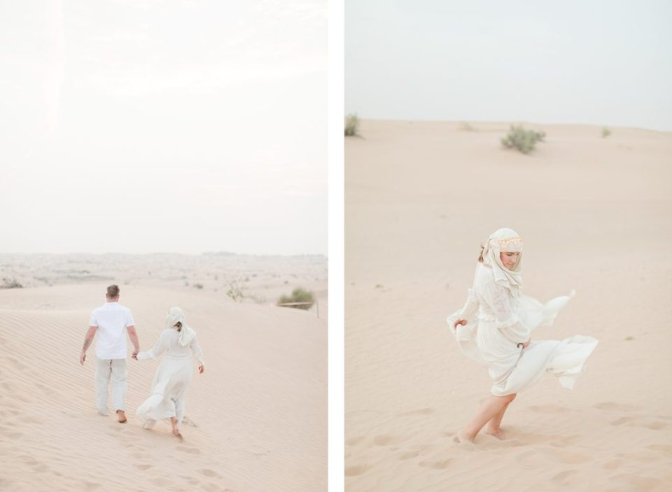 Couple photo shoot in Dubai Dessert