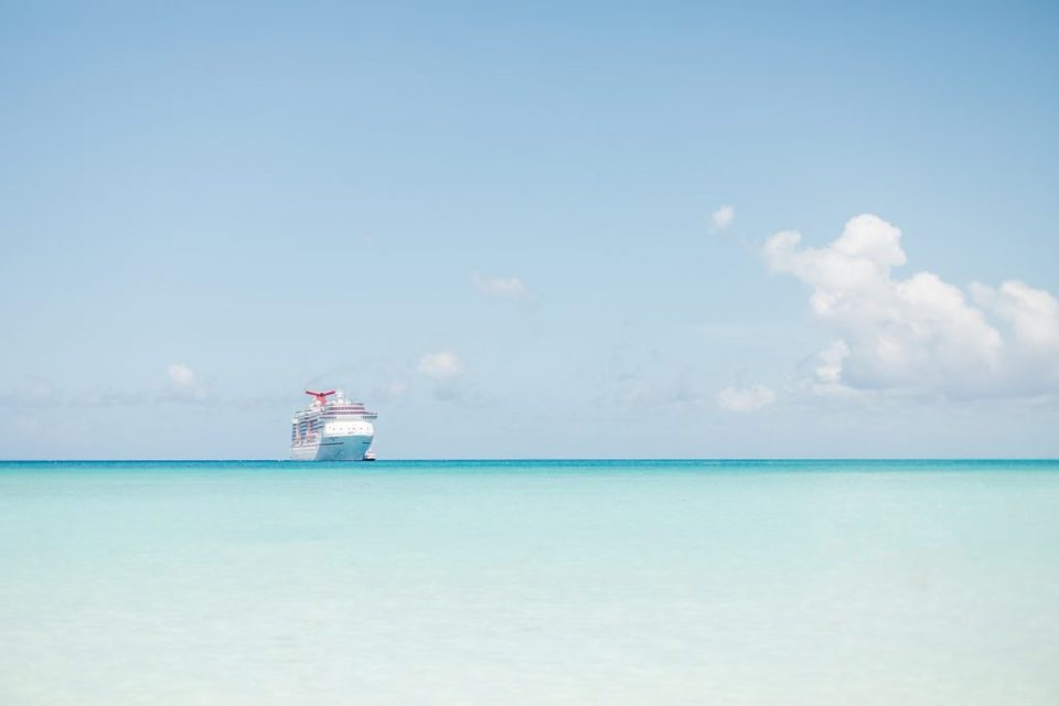 Carnival Pride Cruise Wedding on the Ocean by Costola Photography