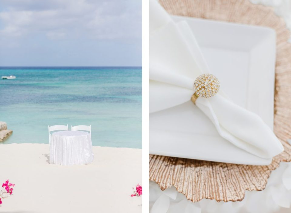 Turks and caicos wedding ceremony at ocean beach hotel by Costola Photography