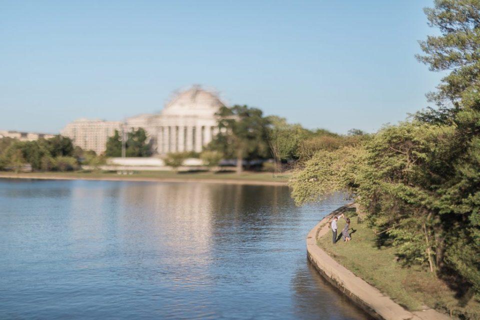 Washington DC Tidal Basin Anniversary Session by Costola photography