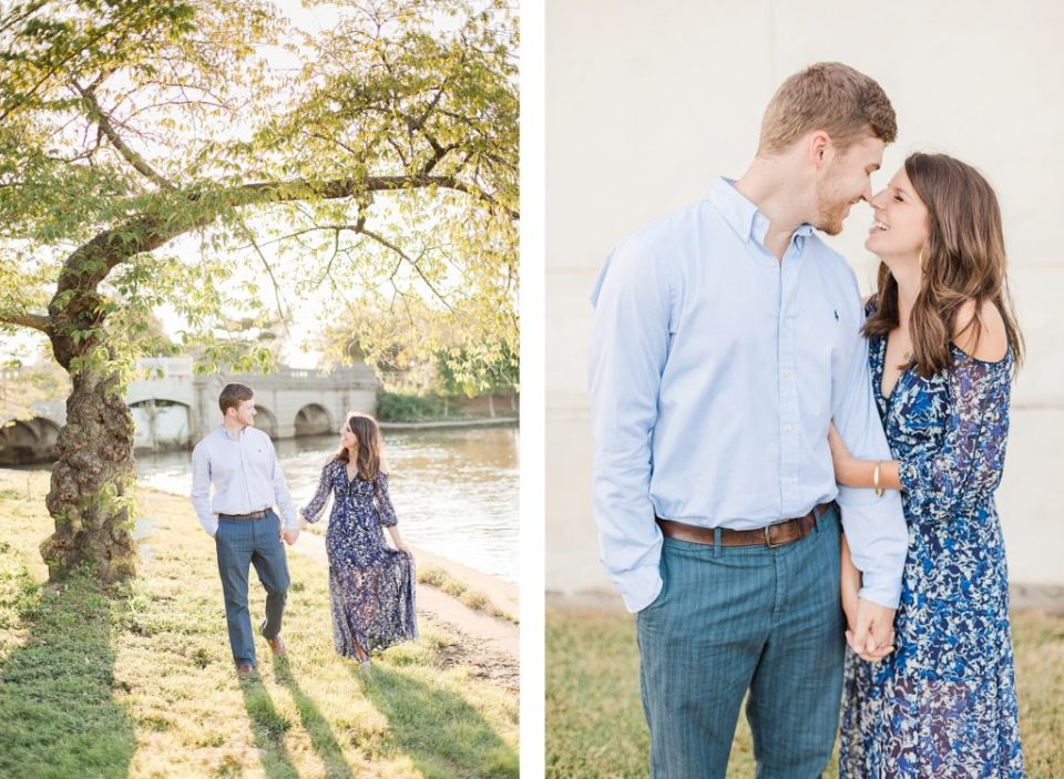 Washington DC Tidal Basin Anniversary Session by Costola photography
