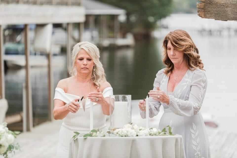 Southern Wedding on Lake Gaston by Costola Photography