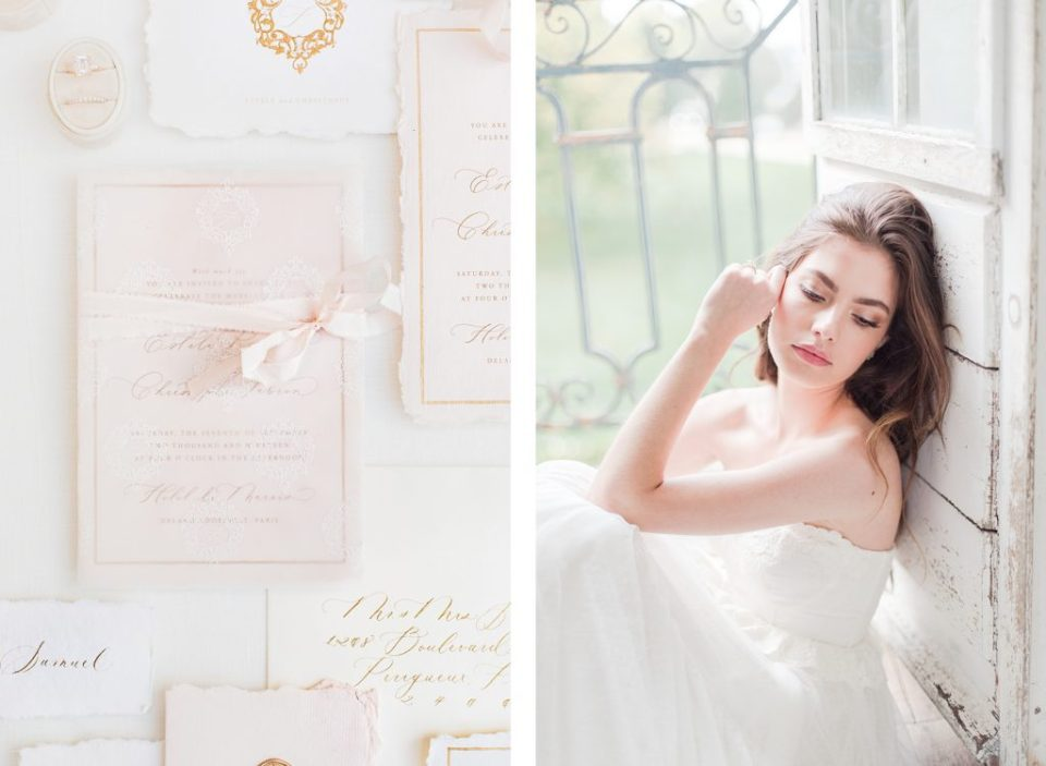 Invitation Suite for Champagne France by Destination Wedding Photographer Costola Photography