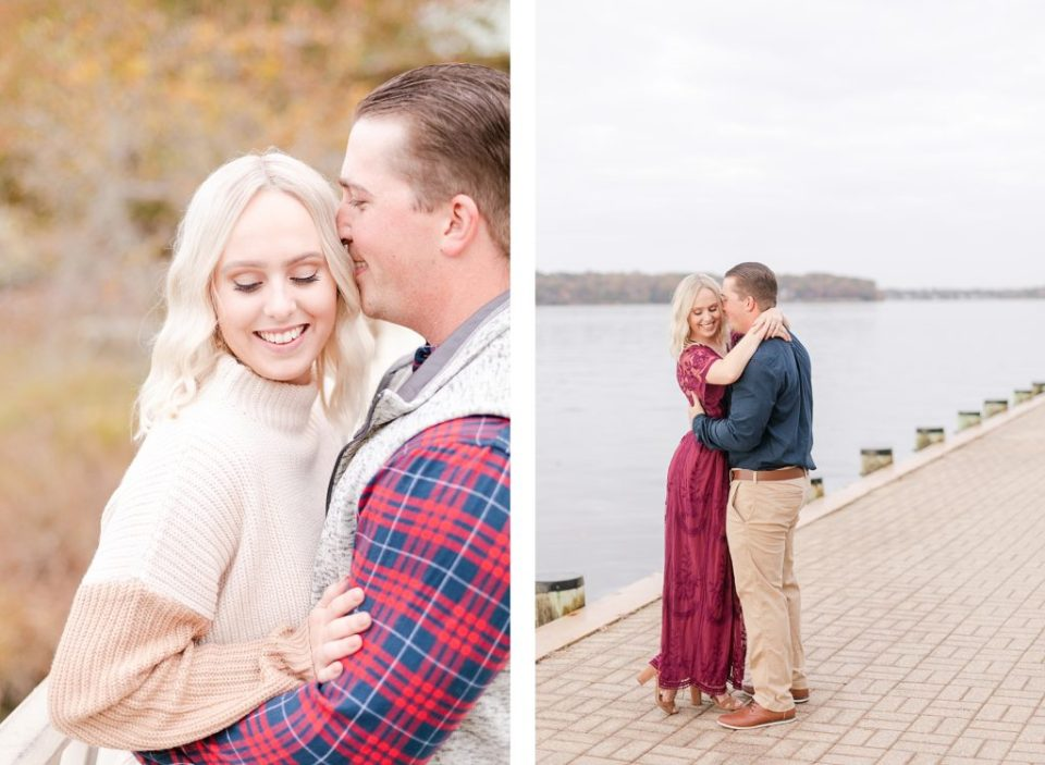 Fall Engagement at Quiet Waters Park by Costola Photography