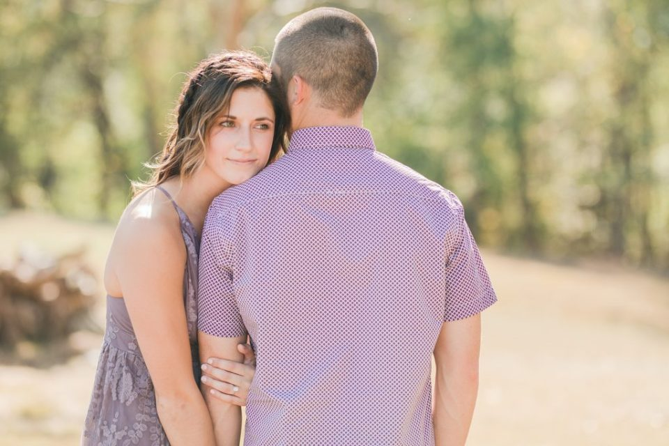 Romantic Fall Engagement in Southern Maryland by Costola Photography
