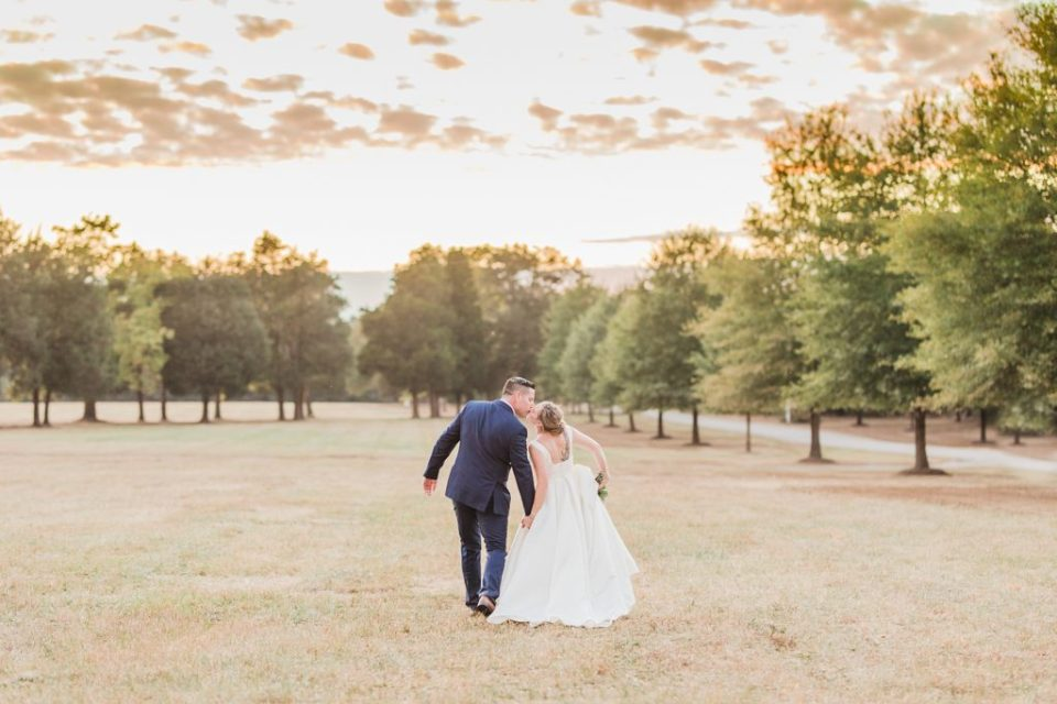 Bride and Groom at Sotterley Plantation Wedding in Southern Maryland by Costola Photography